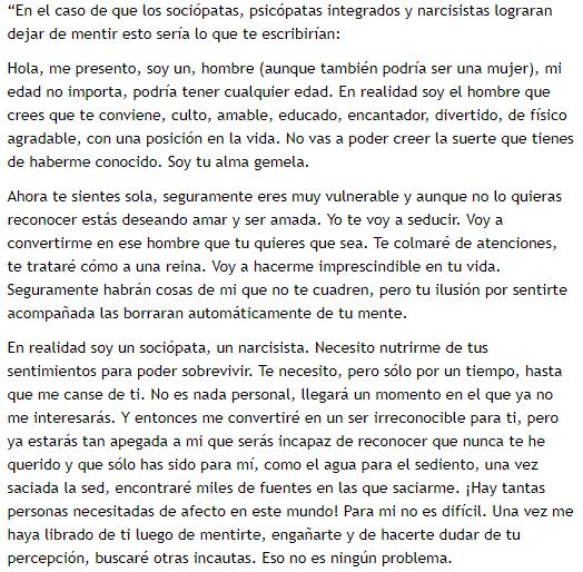 Es una carta de un narcisista, viral, psicología clínica, psicóloga Ecuador, psicóloga Quito, terapeuta recomendado recomendada